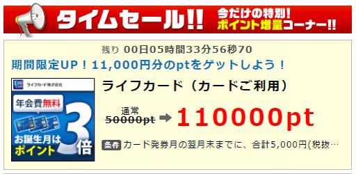 1万超え案件:年会費無料クレカで23,000円相当。今夜0時まで!
